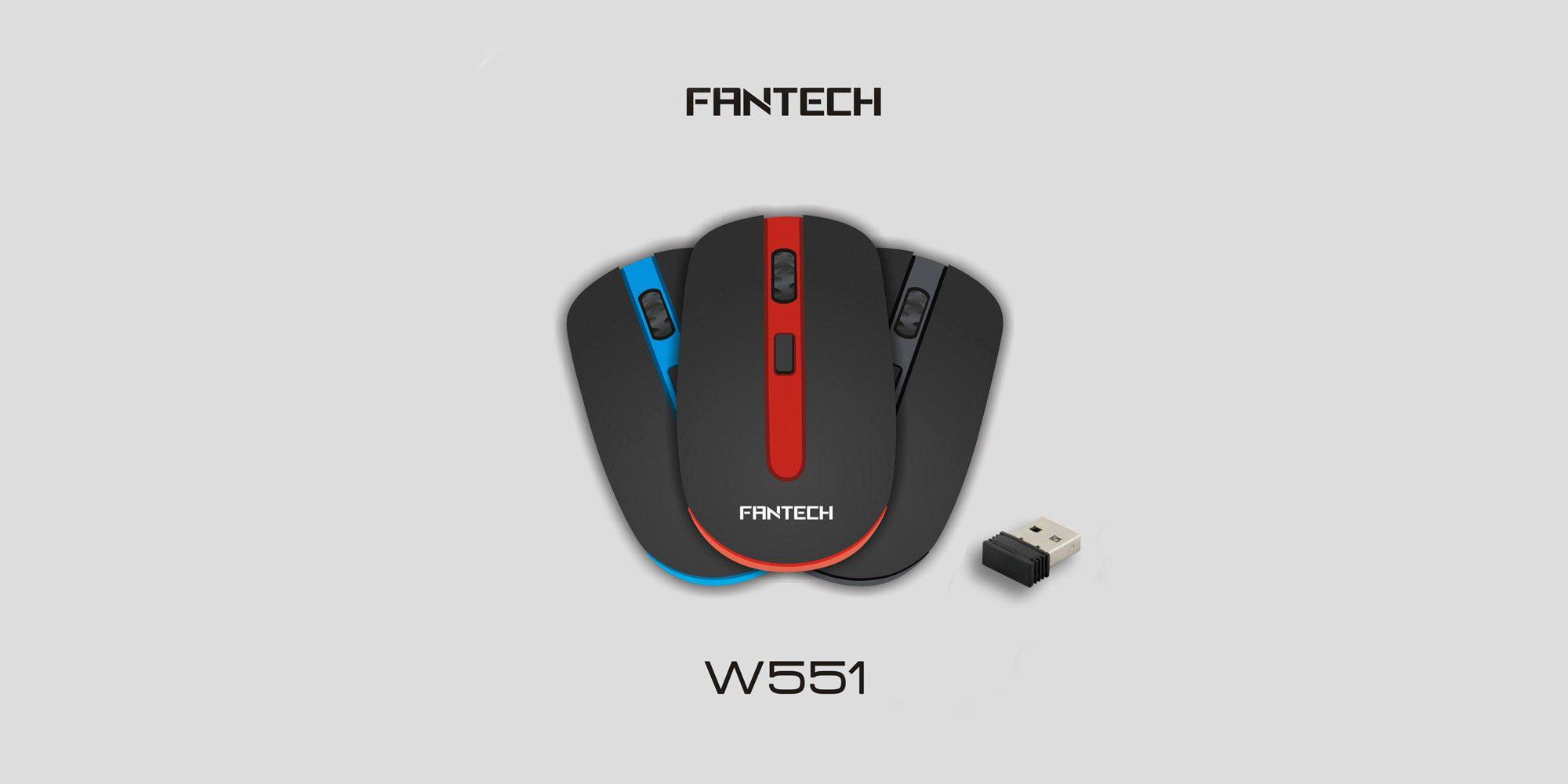 Мышь Fantech W551-4D Wireless
