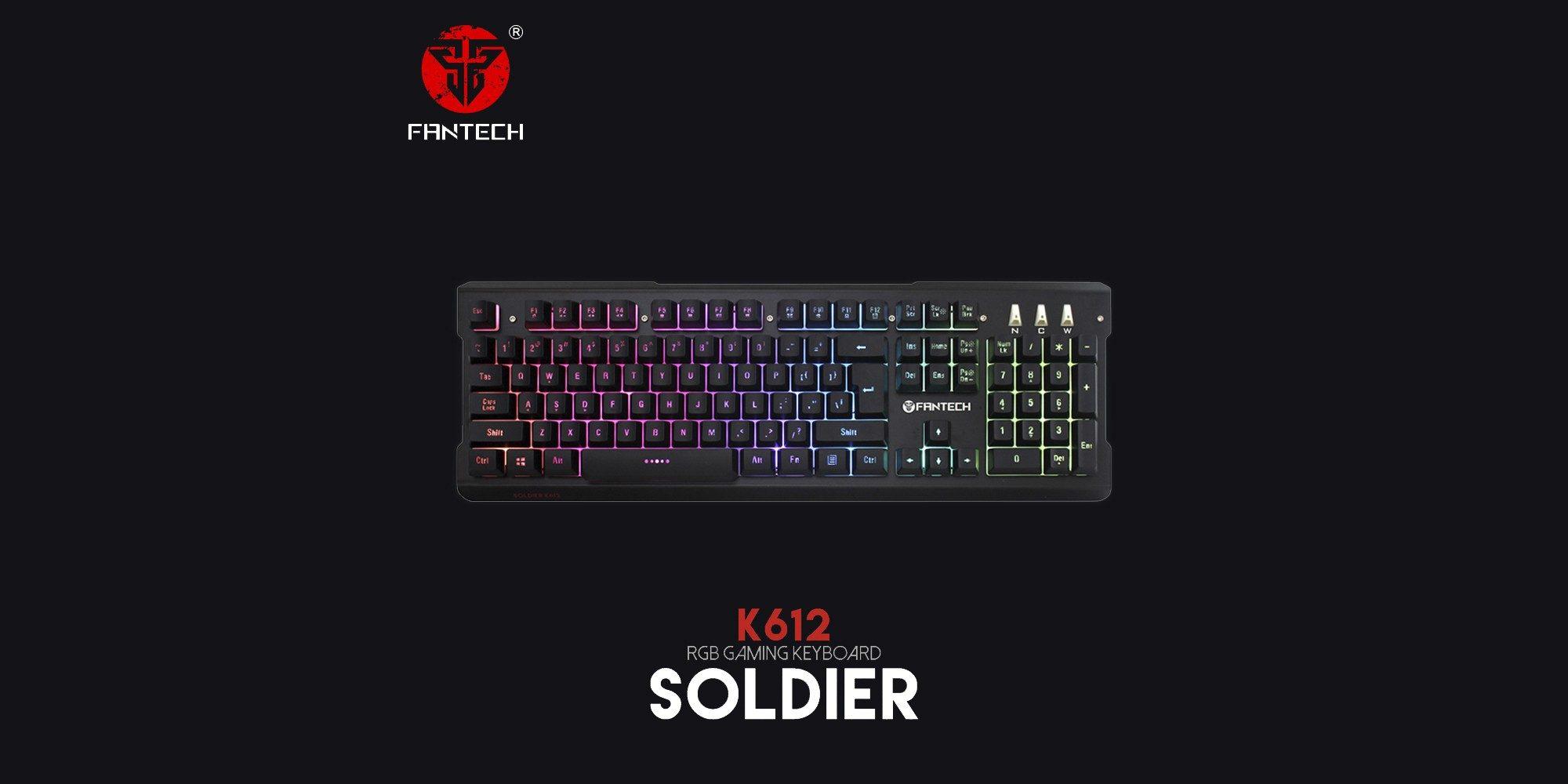 Клавиатура Fantech Soldier K612
