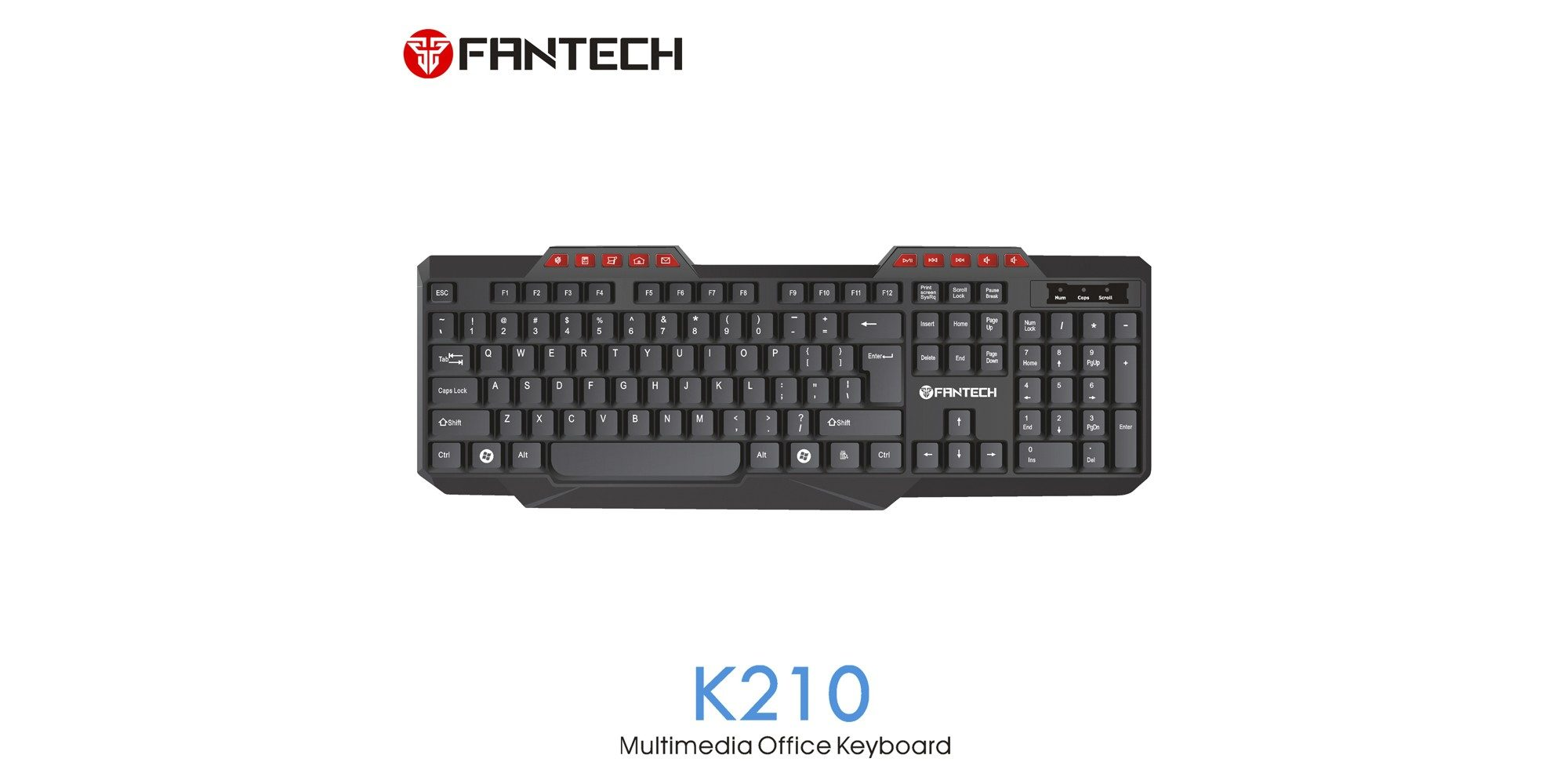 Клавиатура Fantech K210