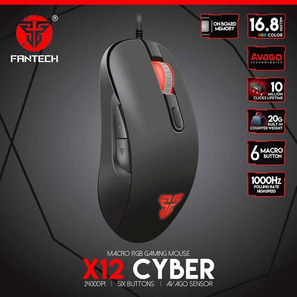 Игровая мышь Fantech Cyber X12