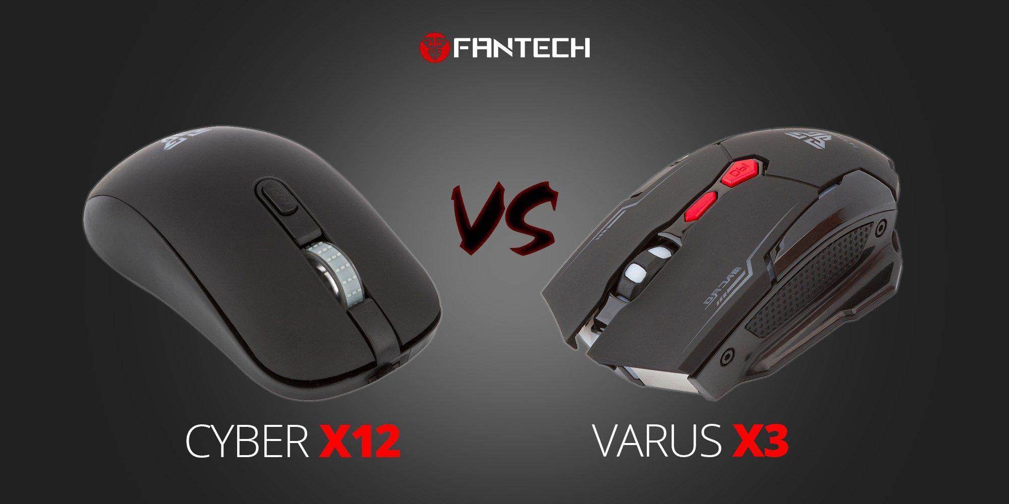 Fantech Cyber X12 против Fantech Varus X3