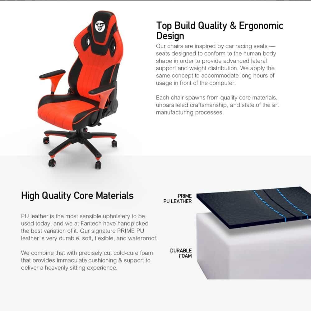 Игровое кресло Fantech Alpha GC-180