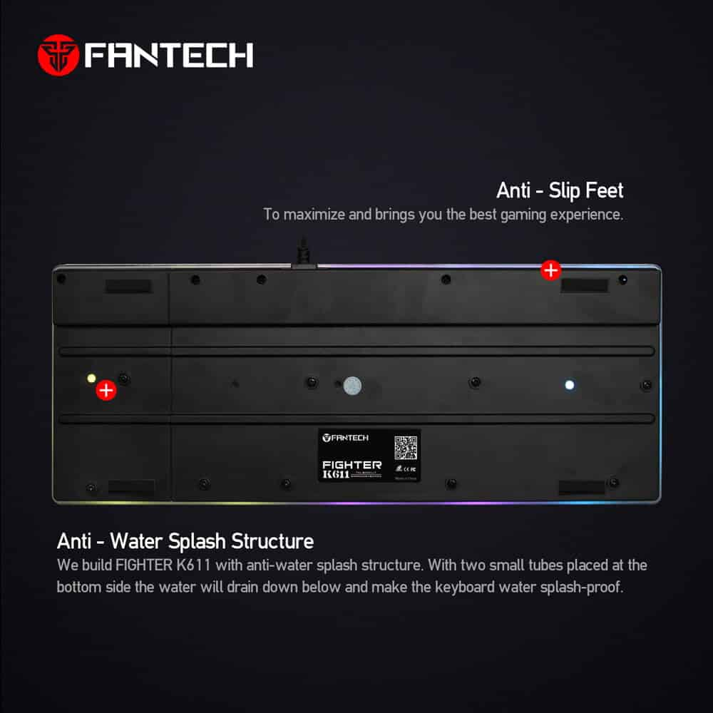 Игровая клавиатура Fantech Fighter K611