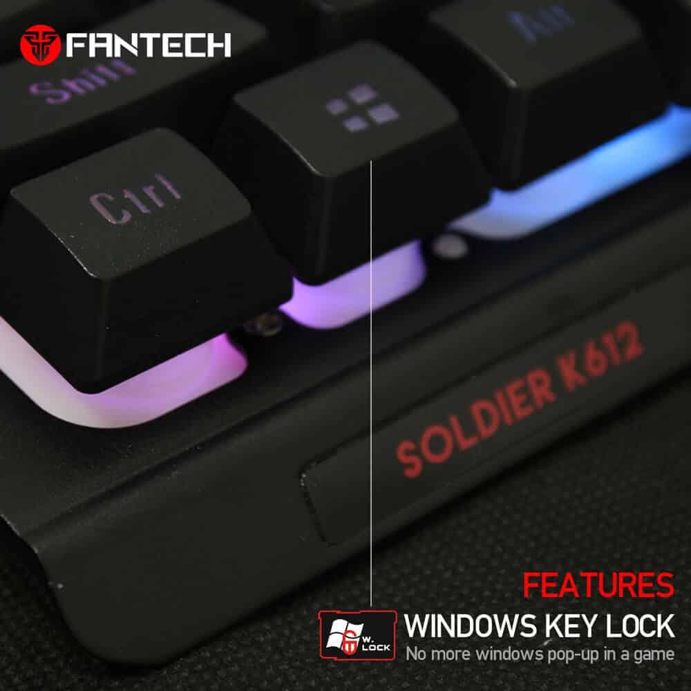 Игровая клавиатура Fantech Soldier K612