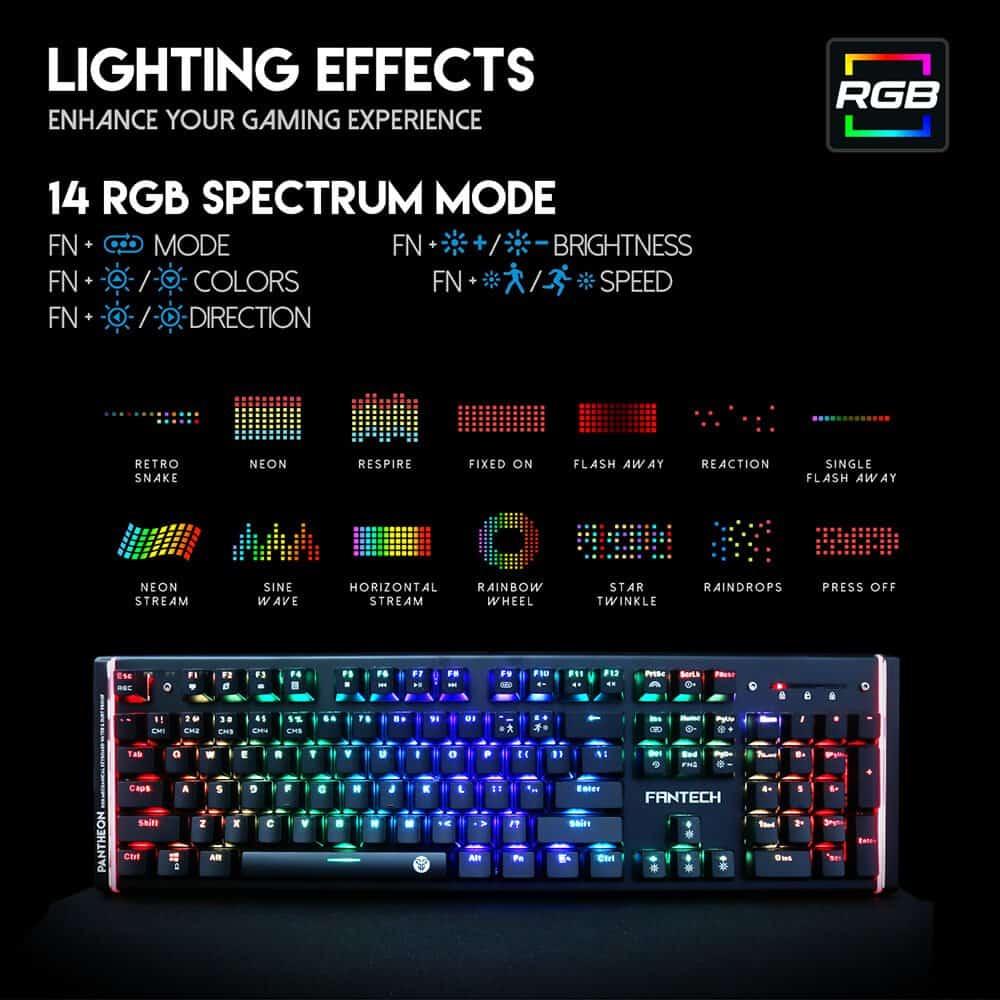 Игровая клавиатура Fantech Pantheon MK883