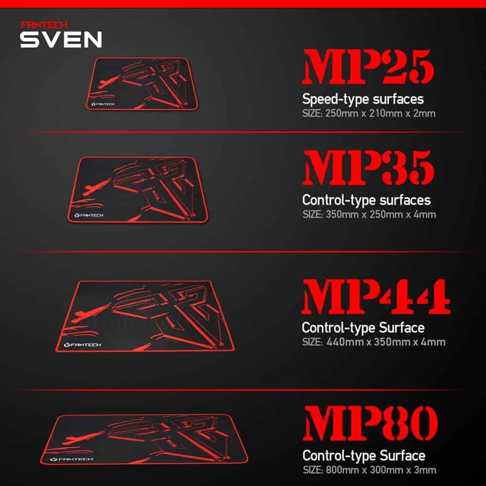 Игровая поверхность Fantech Sven MP25