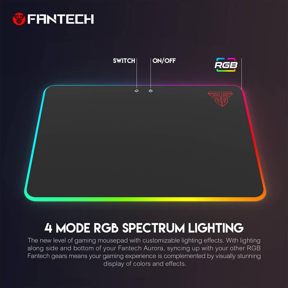 Игровая поверхность Fantech Aurora MPR350 RGB
