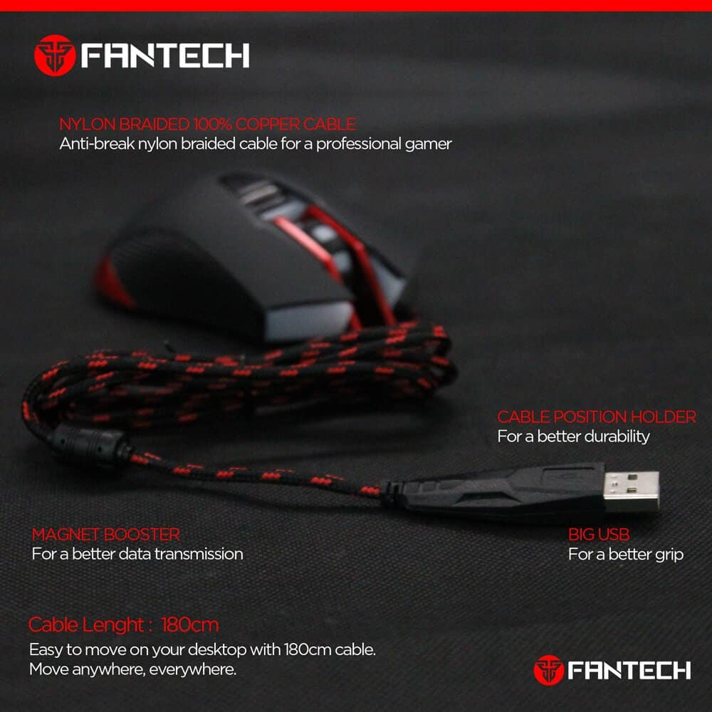 Игровая мышь Fantech Furion V3