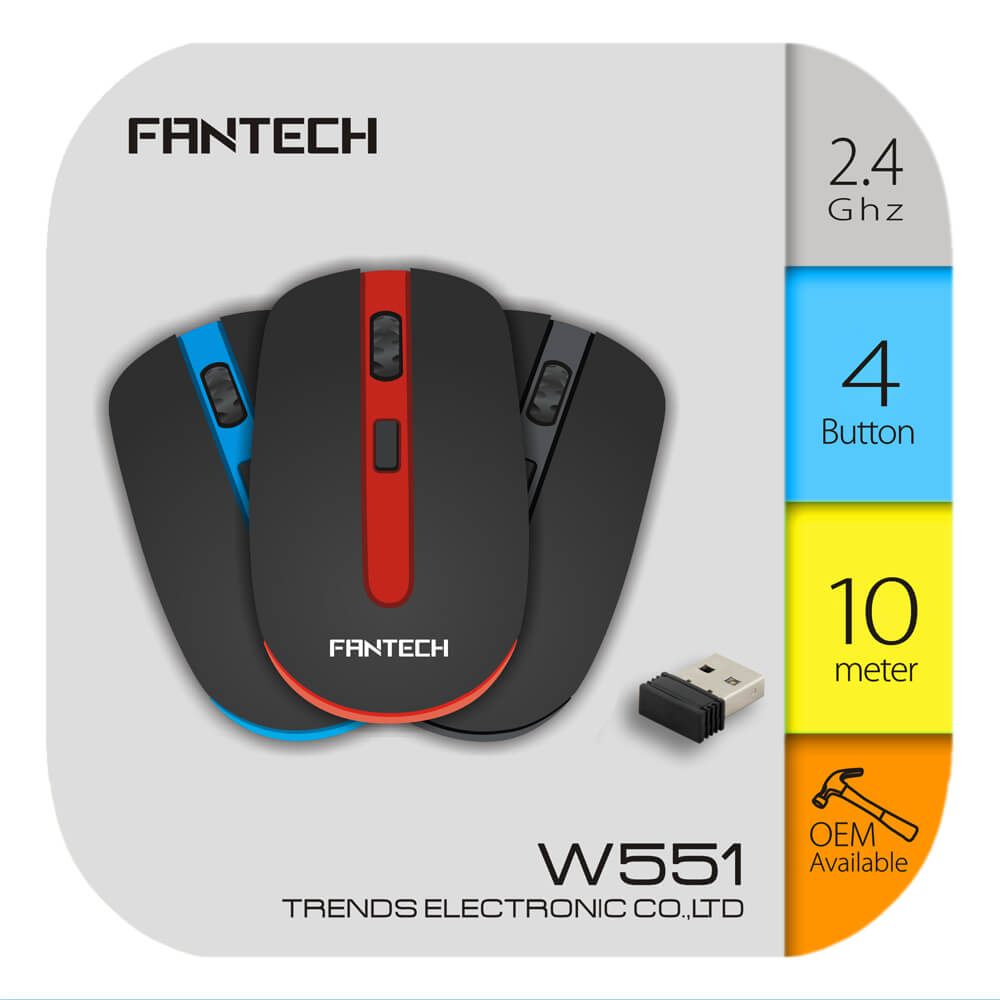 Fantech W551 Wireless