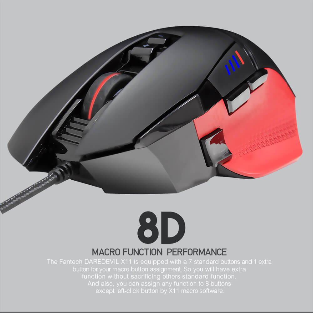 Игровая мышь Fantech Daredevil X11