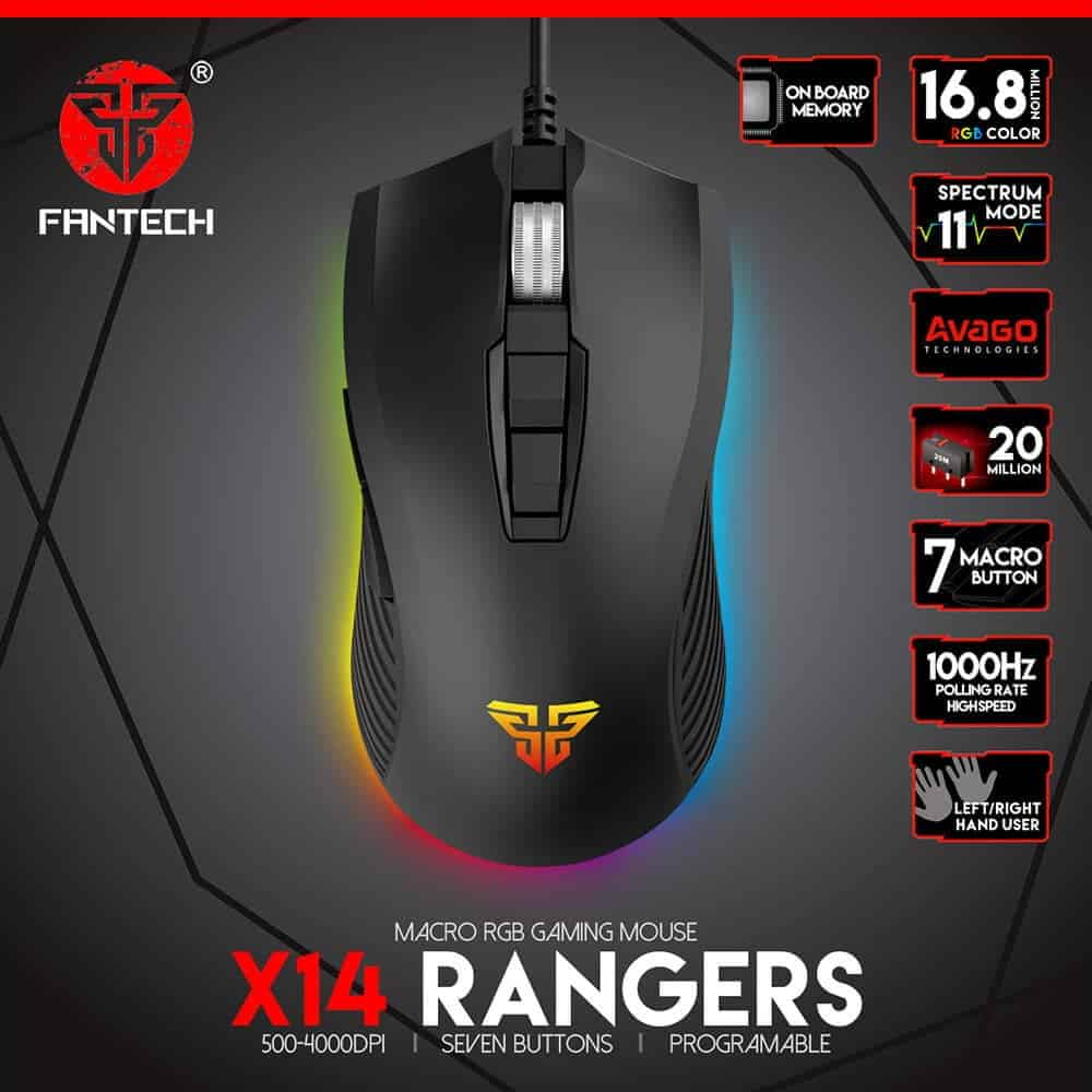 Игровая мышь Fantech Rangers X14