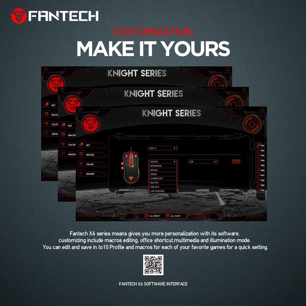 Игровая мышь Fantech Knight X6