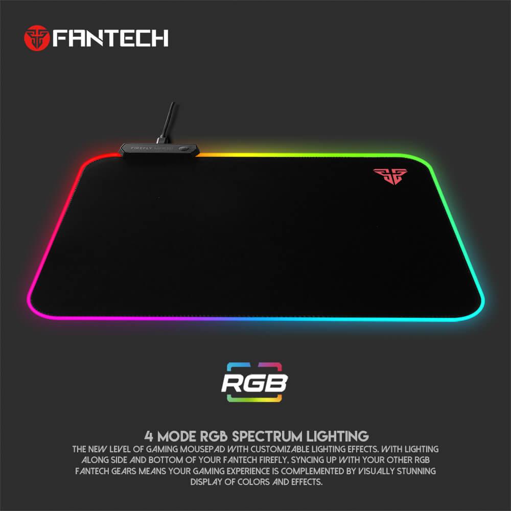 Игровая поверхность Fantech Firefly MPR351 RGB