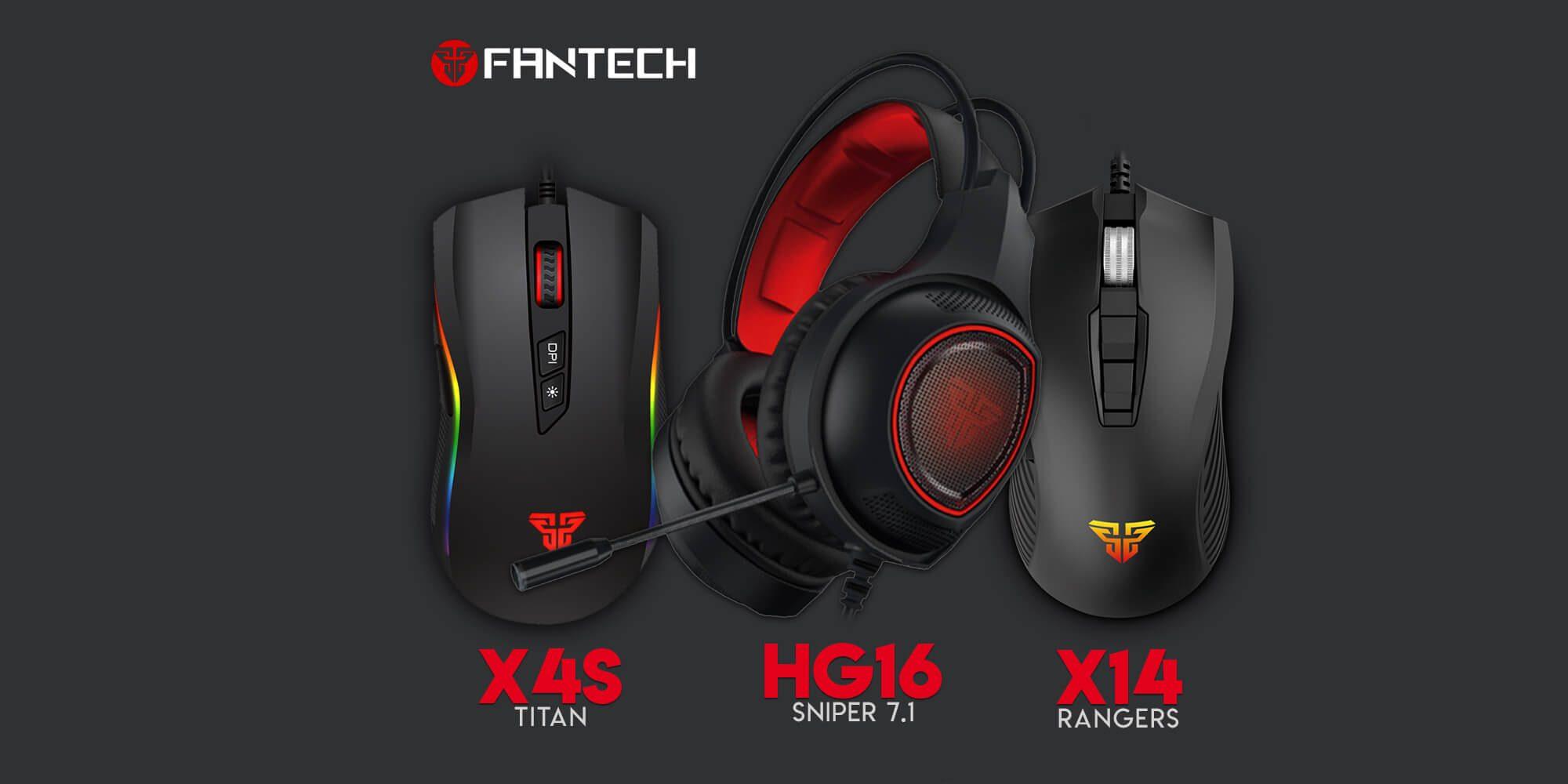 Новинки декабря 2018 - Fantech X4s, X14, HG16