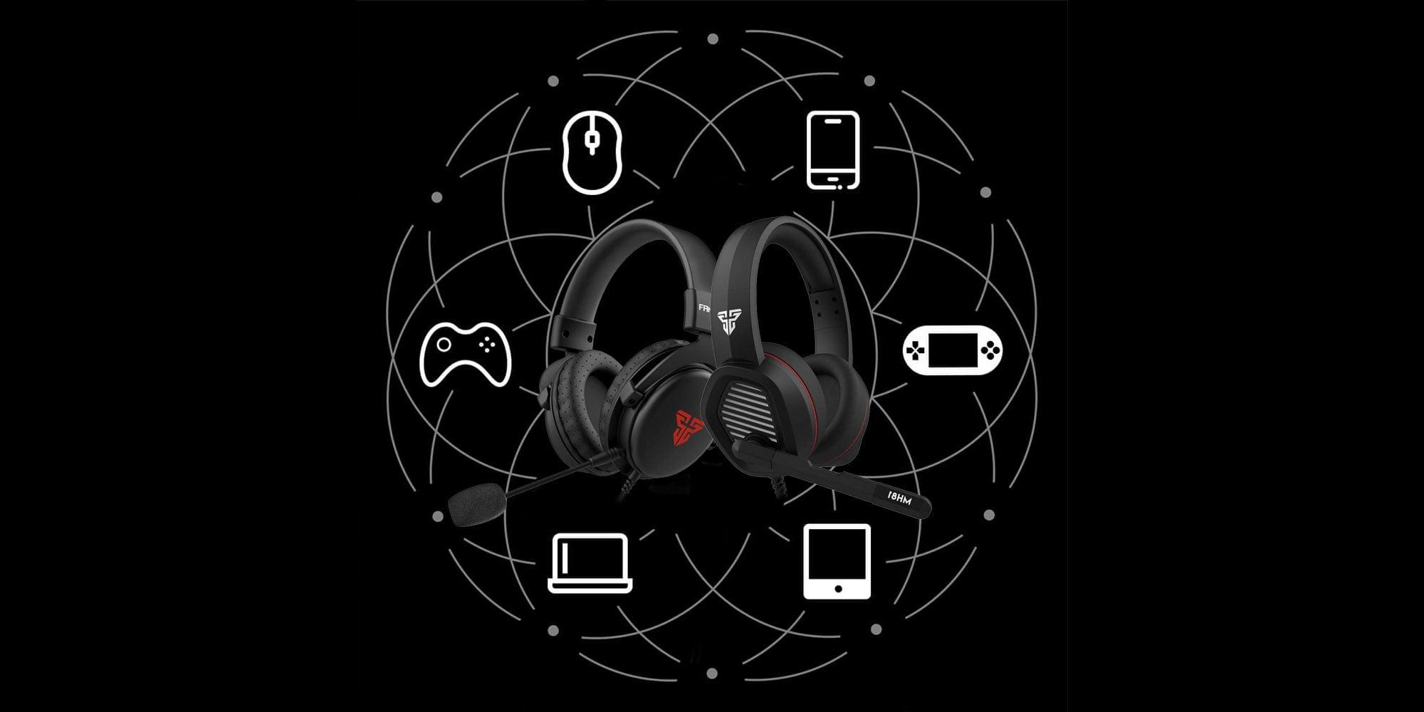 Fantech Scout MH81 и Echo MH82 - мультиплатформенные игровые гарнитуры