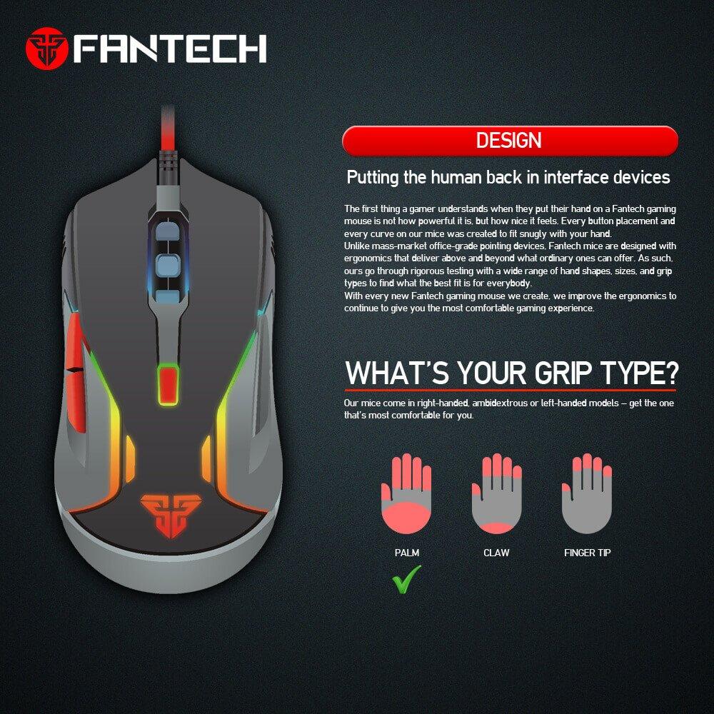 Игровая мышь Fantech Warwick V5