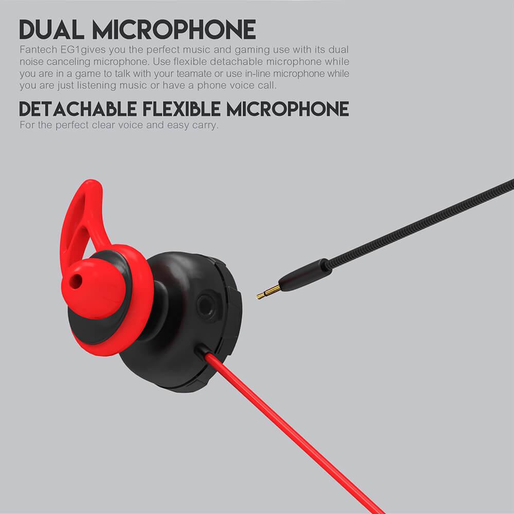 Игровая гарнитура Fantech In-Ear EG1