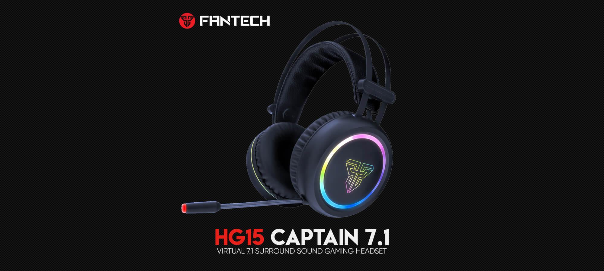 Игровая гарнитура Fantech Captain 7.1 HG15