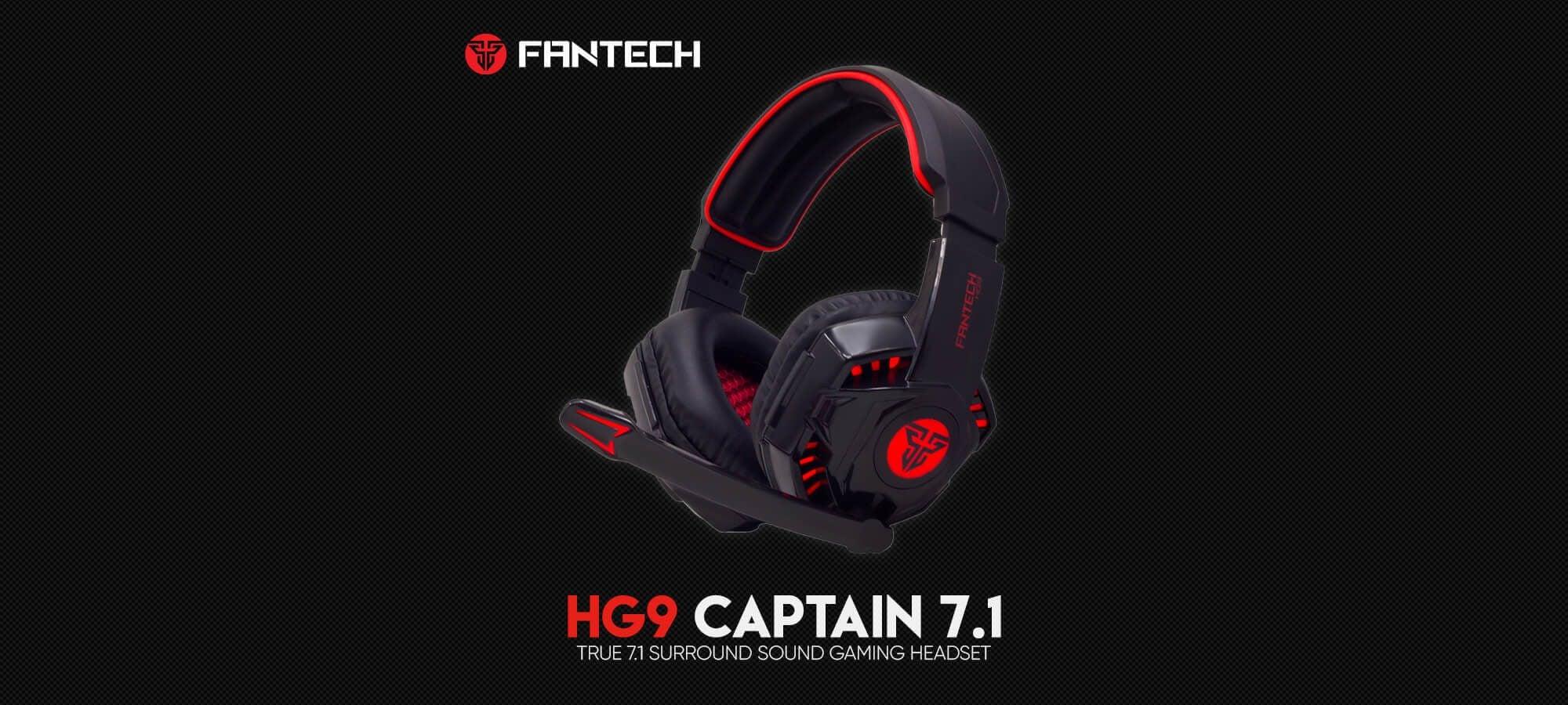 Игровая гарнитура Fantech Captain 7.1 HG9