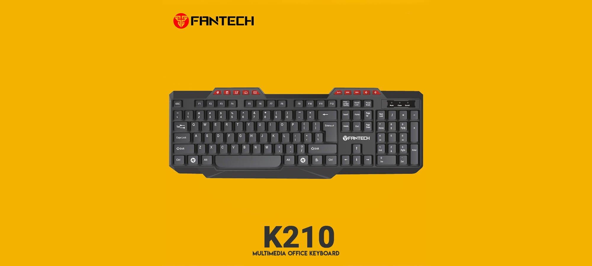 Офисная клавиатура Fantech K210