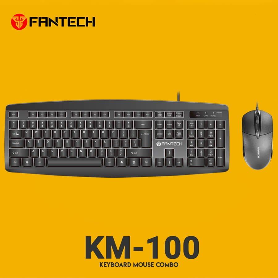 Комплект проводной Fantech KM-100