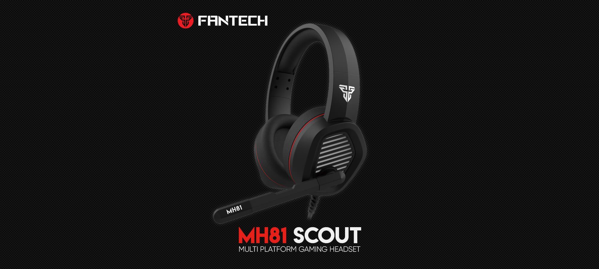 Игровая гарнитура Fantech Scout MH81