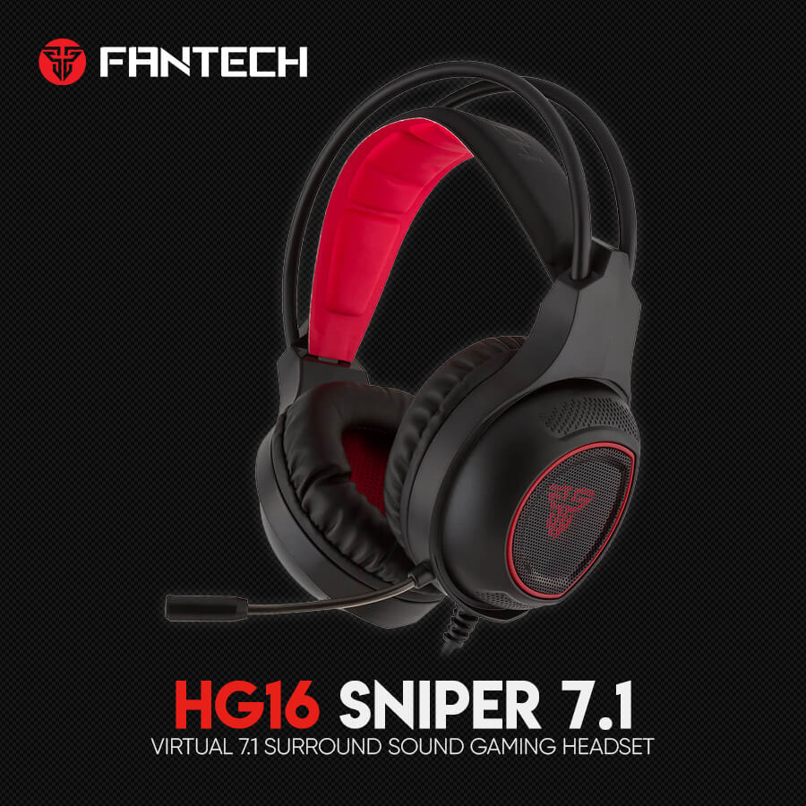 Игровые наушники Fantech Sniper 7.1 HG16