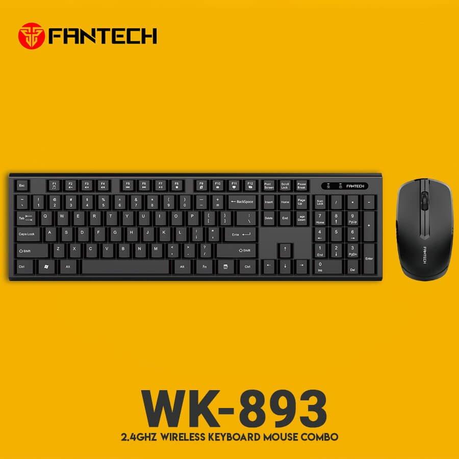 Комплект беспроводной Fantech WK893 Wireless