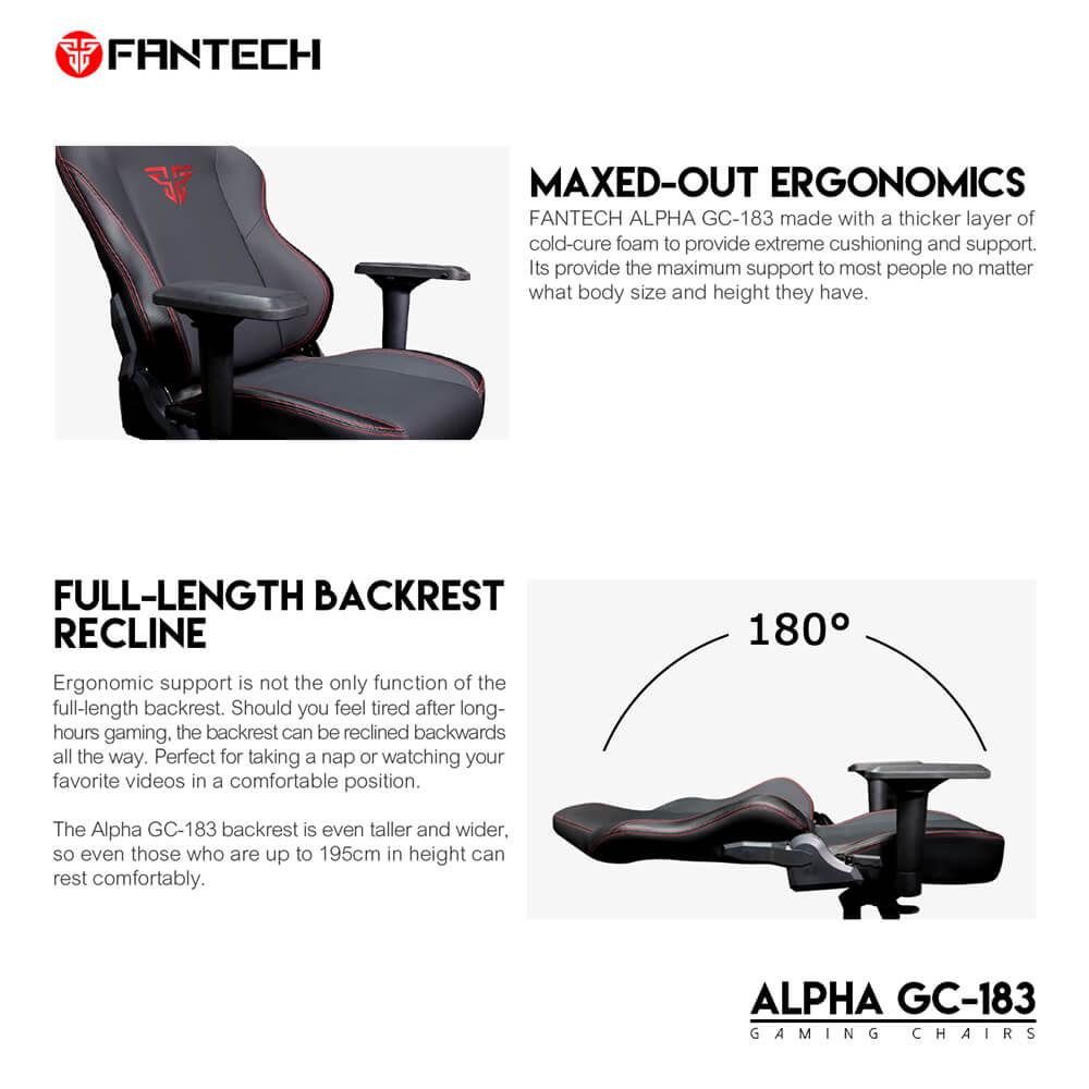 Игровое кресло Fantech Alpha GC-183