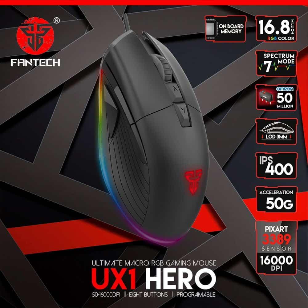 Игровая мышь Fantech Hero UX1