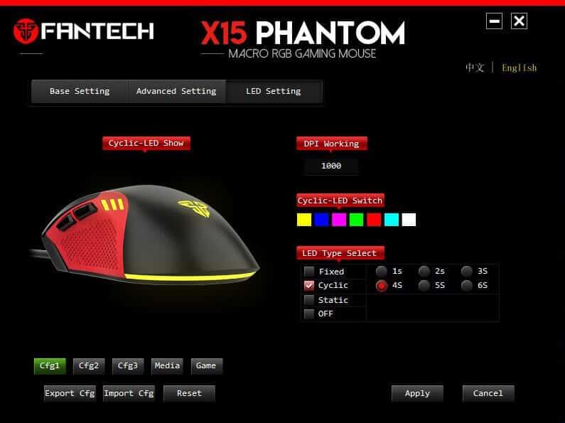 Первое впечатление о новинке Fantech X15