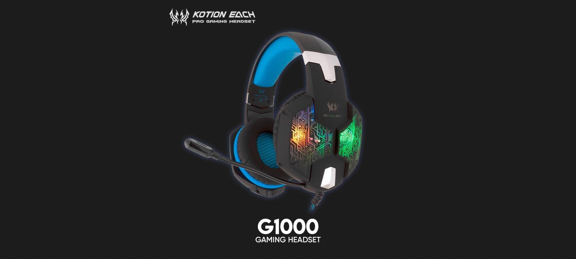 Игровая гарнитура Kotion Each G1000
