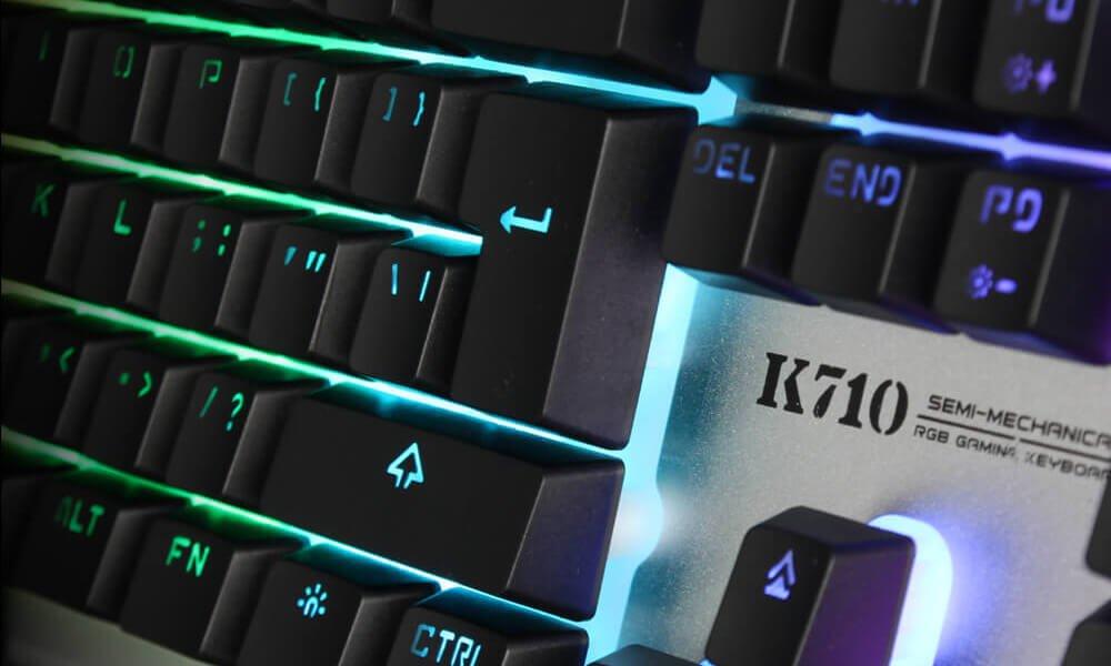 Полумеханические клавиатуры