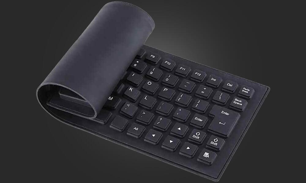 Типы клавиатур - Резиноваяная клавиатура