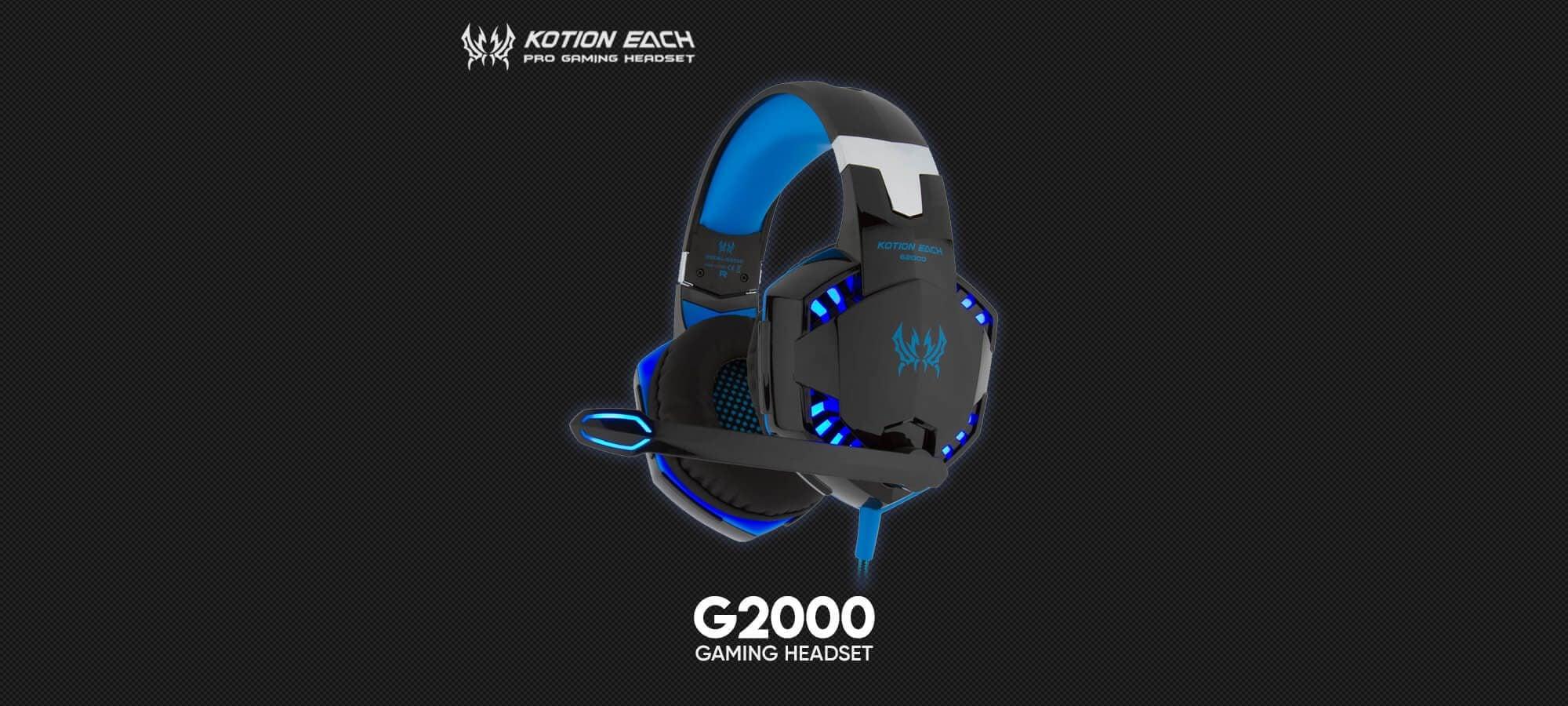 Игровая гарнитура Kotion Each G2000