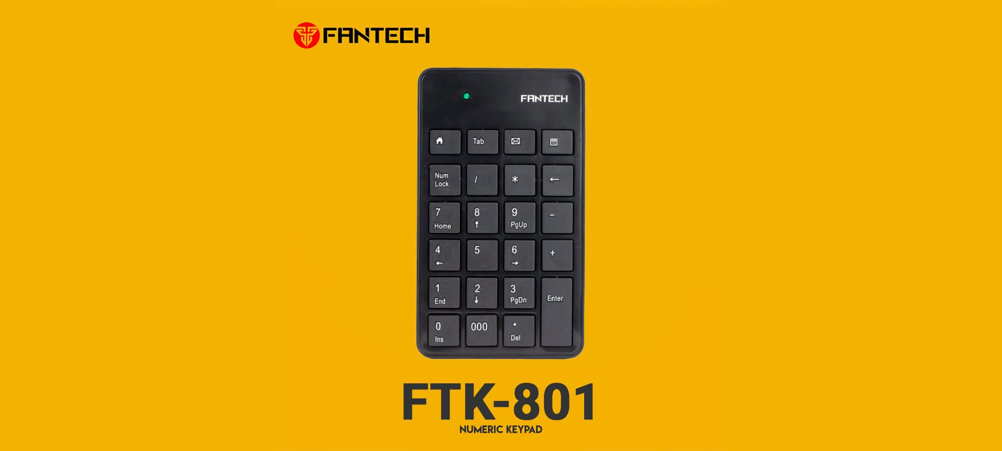 Офисная клавиатура Fantech FTK-801