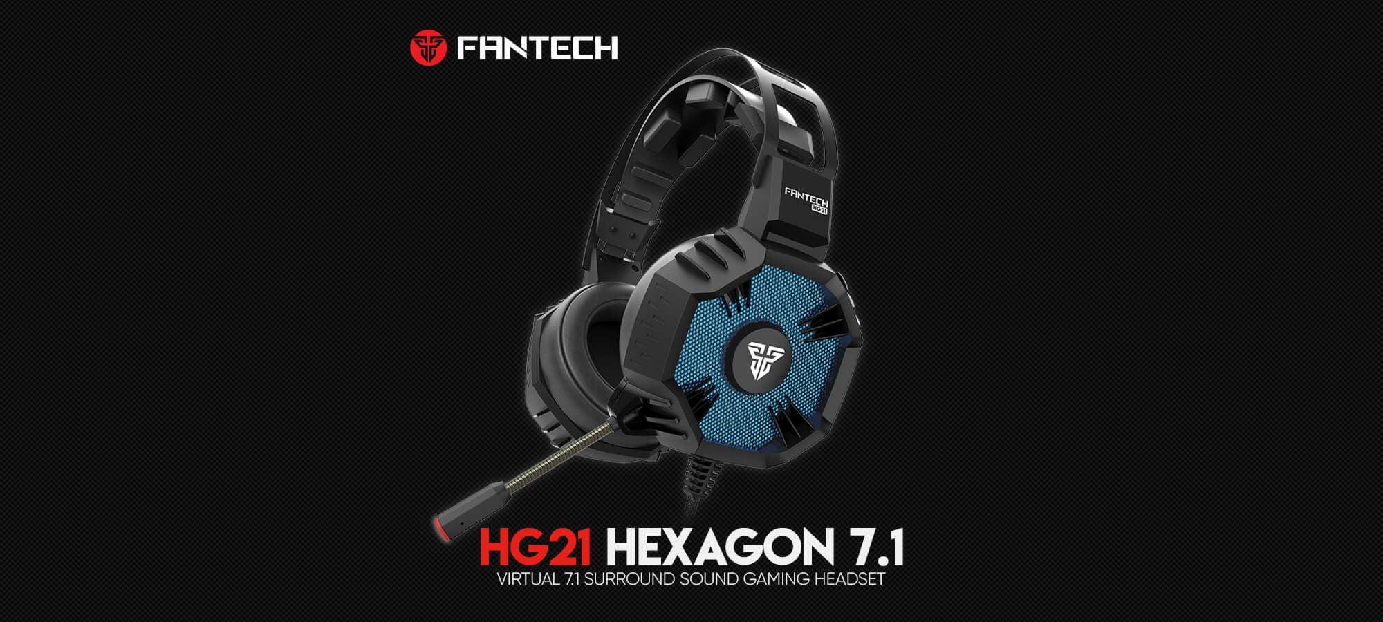 Игровая гарнитура Fantech Hexagon 7.1 HG21