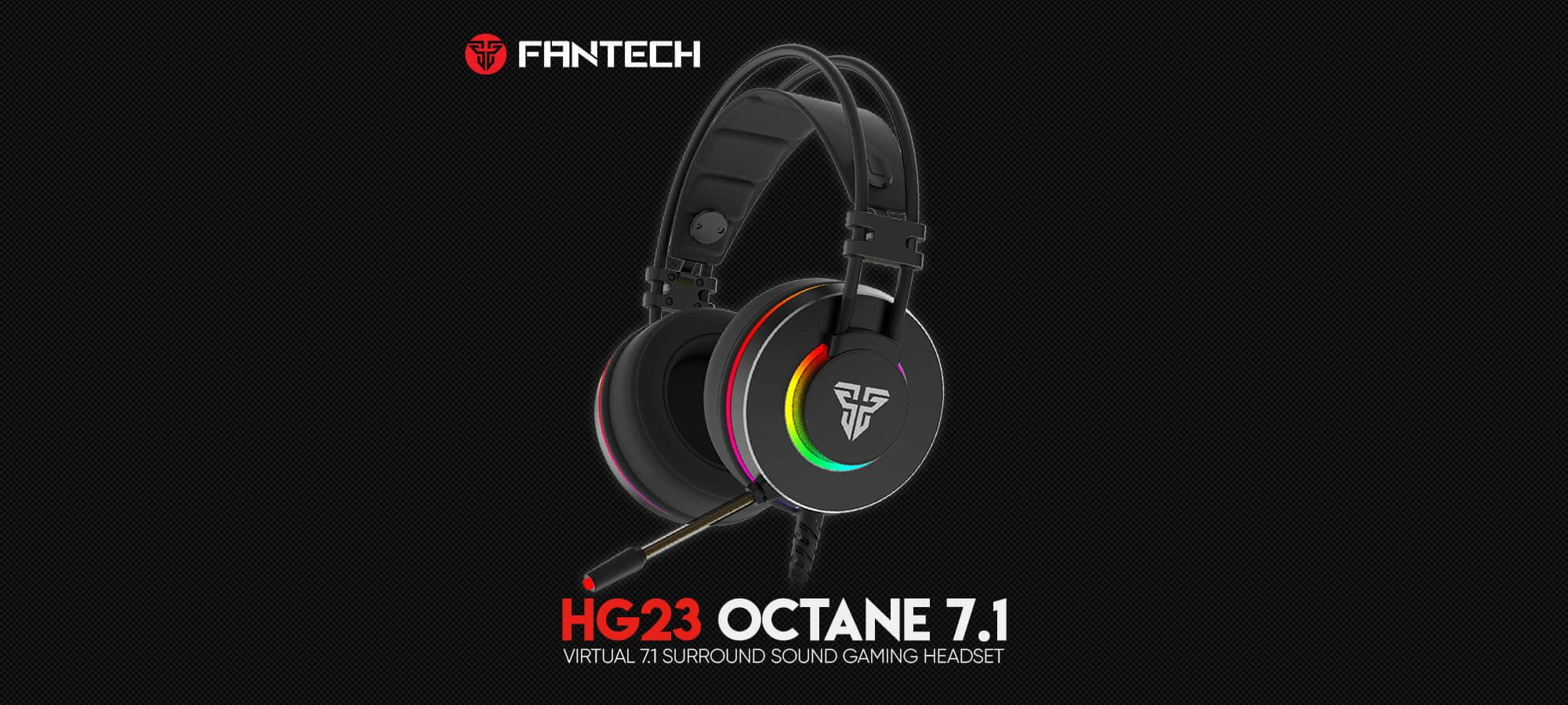 Игровая гарнитура Fantech Octane 7.1 HG23