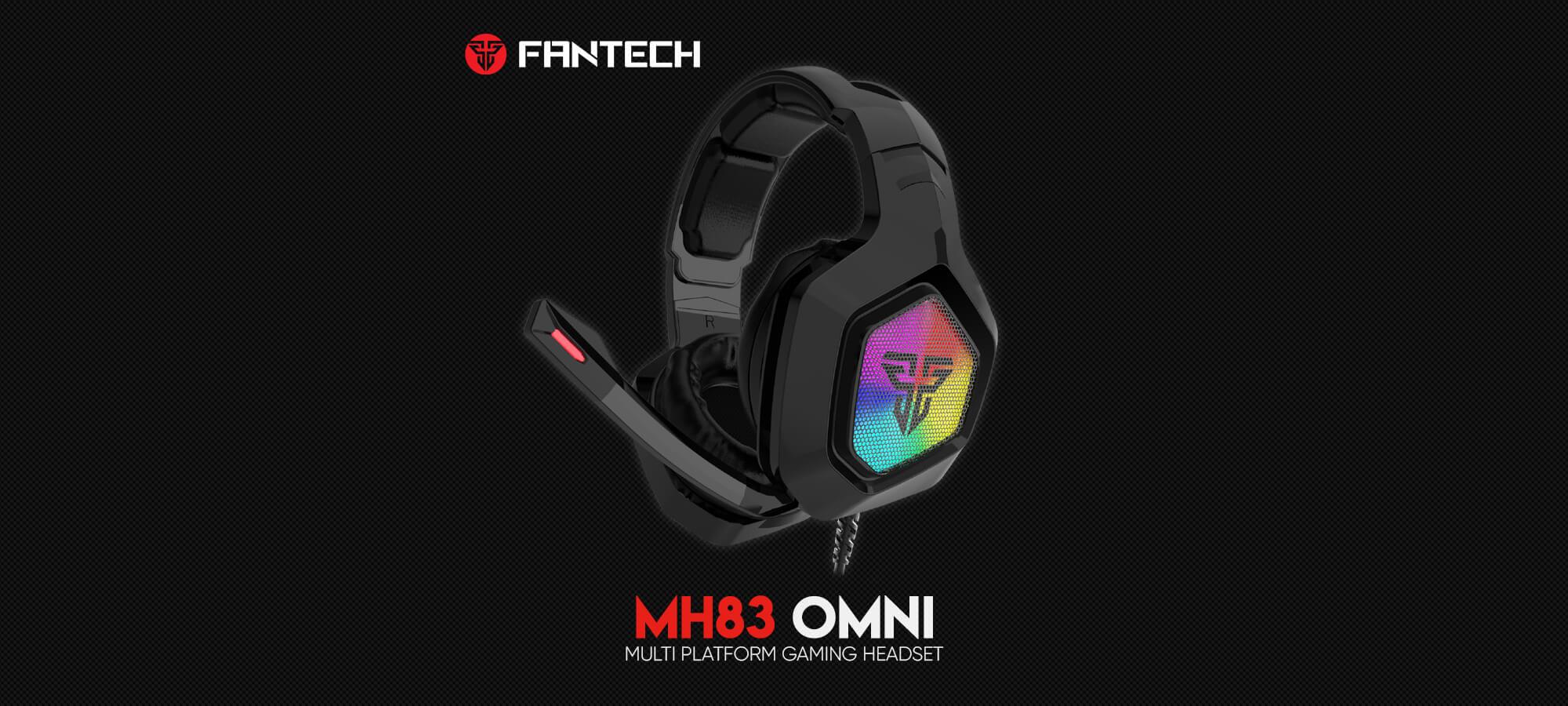 Игровая гарнитура Fantech Omni MH83