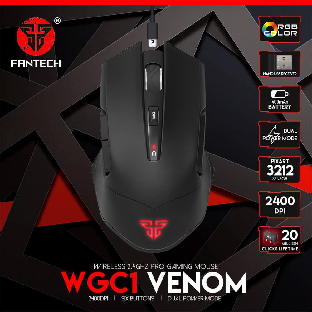 Игровая мышь Fantech Venom WGC1