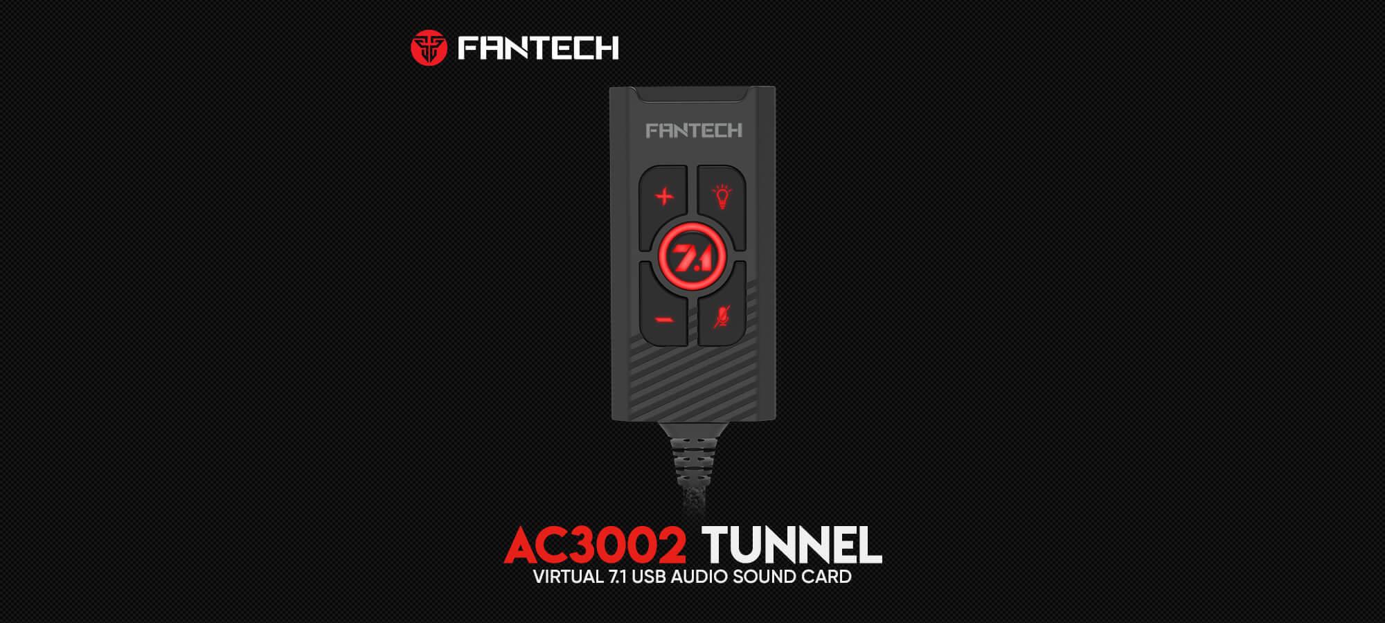 Звуковая карта Fantech Tunnel AC3002