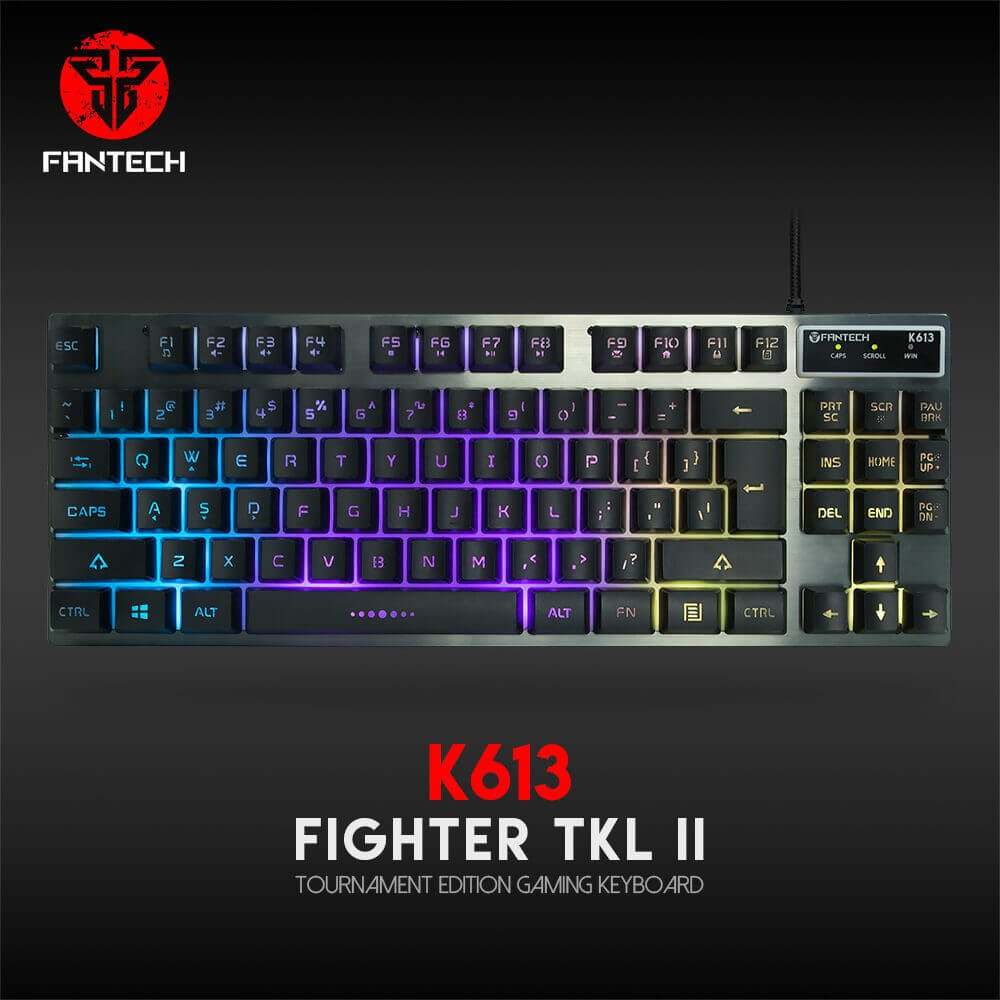 Игровая клавиатура Fantech Fighter TKL II K613