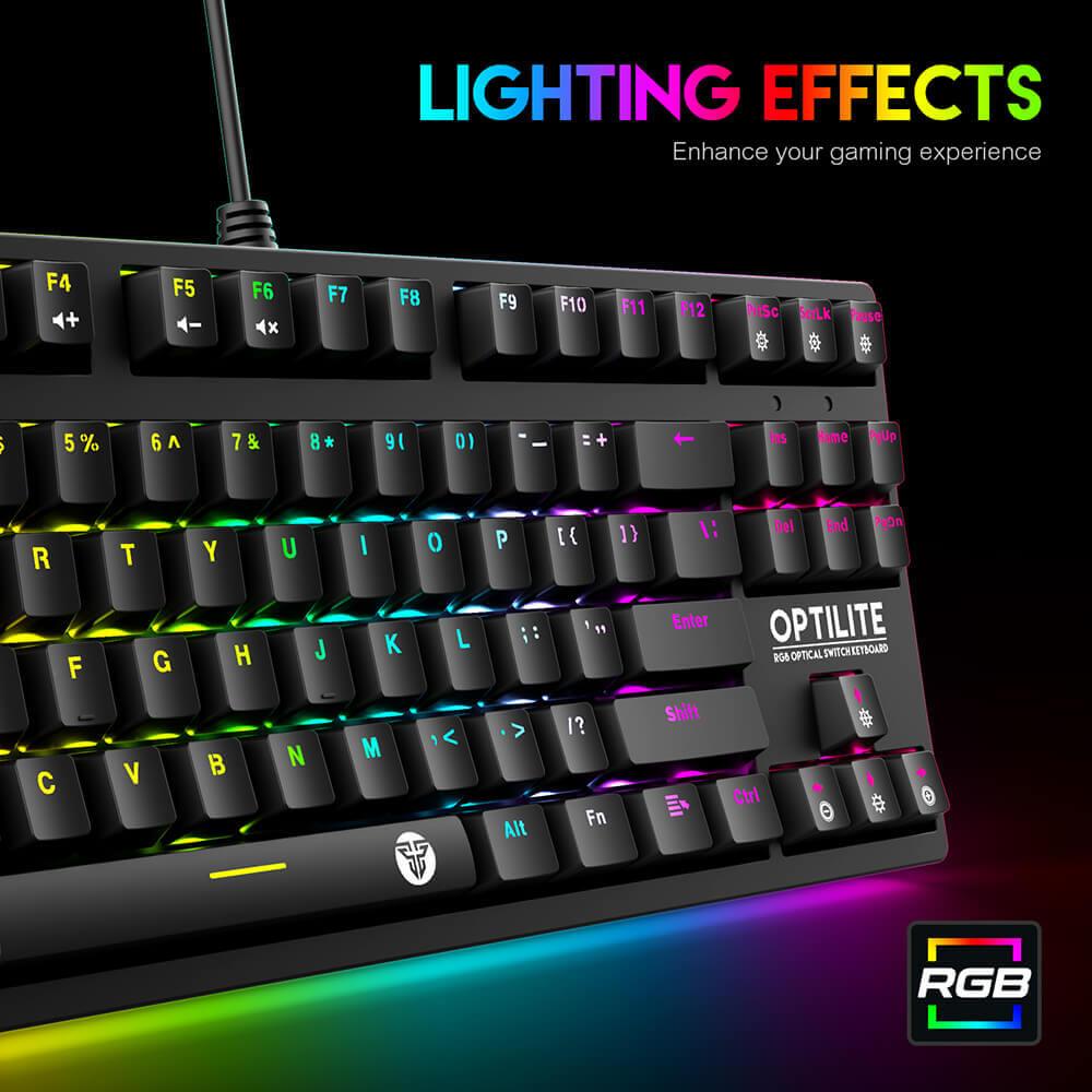 Игровая клавиатура Fantech Optilite MK872