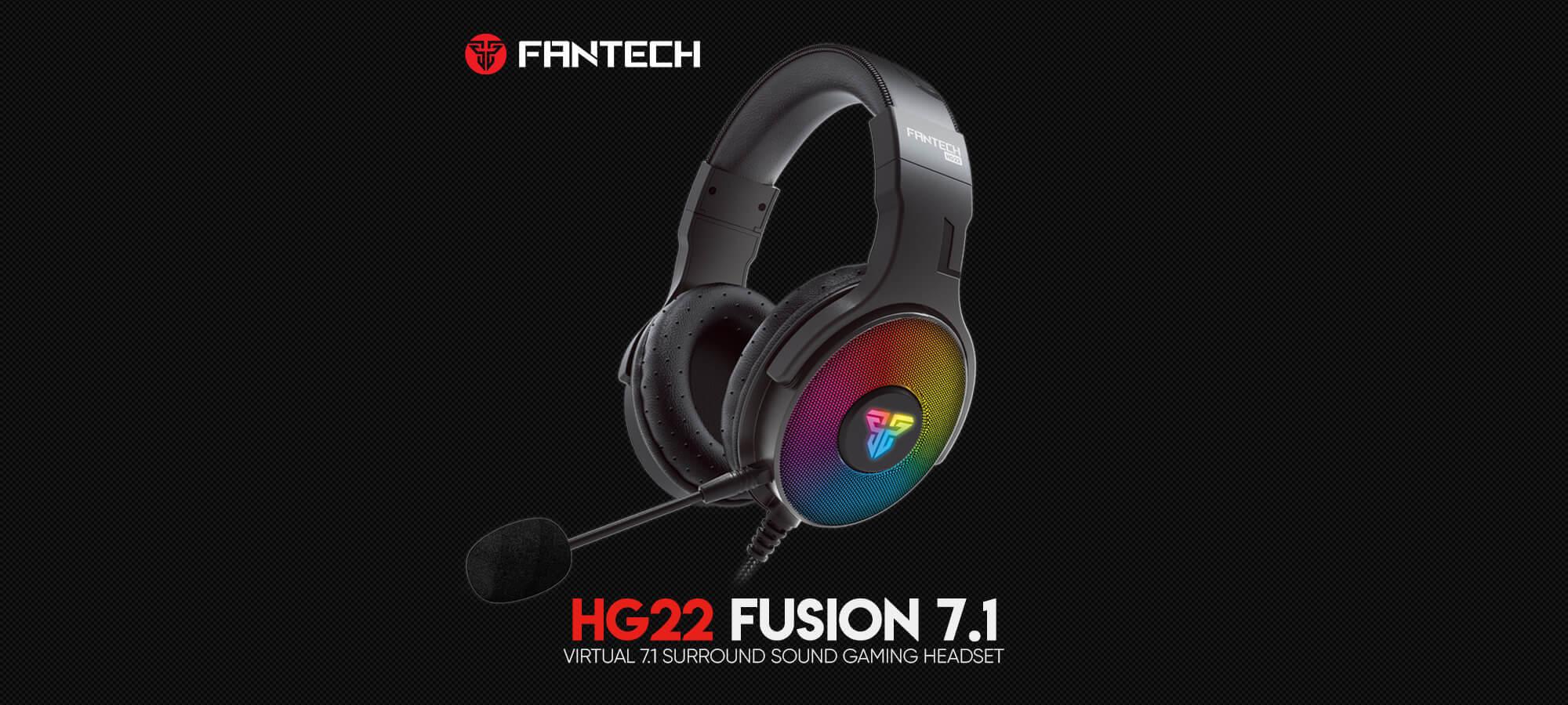 Игровая гарнитура Fantech Fusion 7.1 HG22